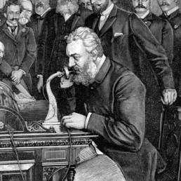 Graham bell telephone